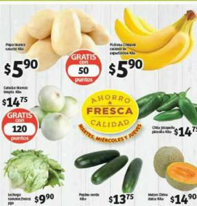 Soriana: Ofertas de frutas y verduras