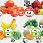 Frutas y Verduras Soriana 27 y 28 de Octubre