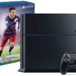 Consola PS4 de 500GB + FIFA 16 en Amazon