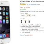 Amazon Promoción iPhone 6 Gold
