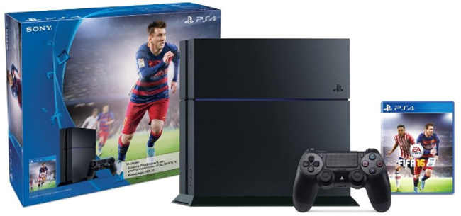 Amazon PS4 Fifa 16 Bundle a $6,119 y meses sin intereses