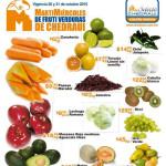 Frutas y Verduras Chedraui 20 y 21 de Octubre