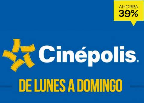 ClickOnero Boletos de Cinépolis Lunes a Domingo