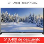 "Costco Sony LED 60"" Smart TV 1080p 960Hz 3D"