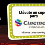 Boleto de Cinemex a solo $25 con puntos Soriana