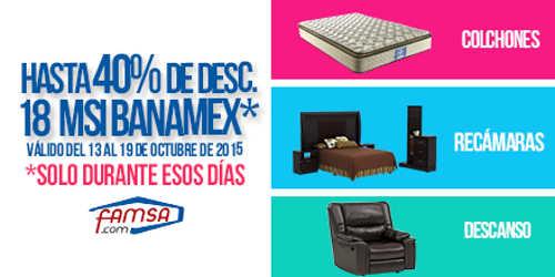 Bancomer linea for Recamaras famsa df