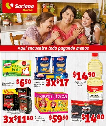 Folleto de ofertas Soriana Mercado al 5 de Noviembre