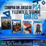 Gameplanet Compra un Juego de PS4 y Llévate el segundo Gratis