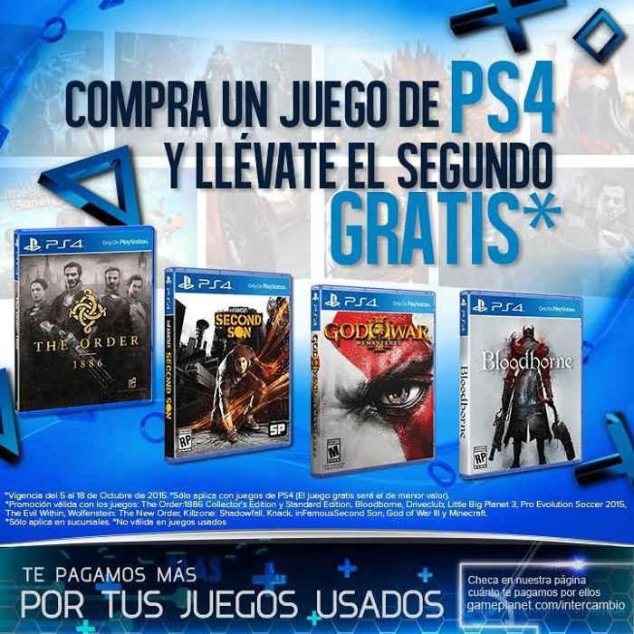 Gameplanet Compra Un Juego De Ps4 Y Llevate El Segundo Gratis