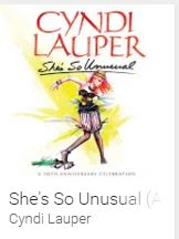 Google Play: Gratis álbum She´s So Unusual de Cindy Lauper