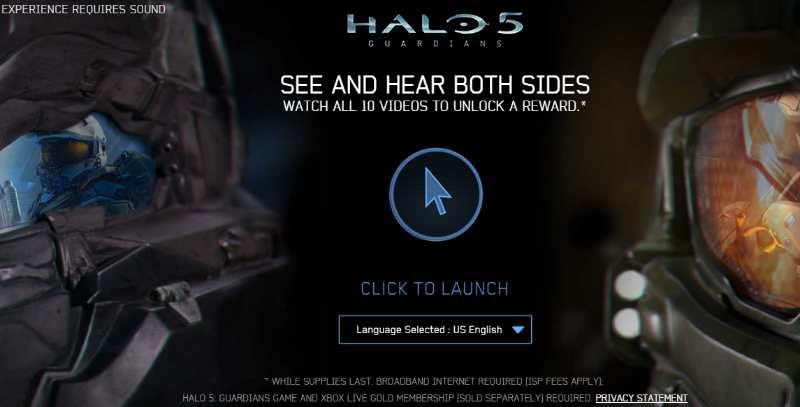 Gratis Accesorio para Halo 5 Viendo Videos en Youtube