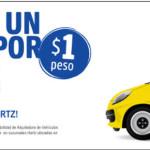 Hertz Renta de autos a 1$ peso