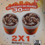 McDonald's 2x1 en Mc Flurry Reeses