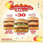 McDonalds Promociones de Aniversario 2015