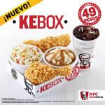 KFC Nuevo combo Kebox a sólo $49 pesos