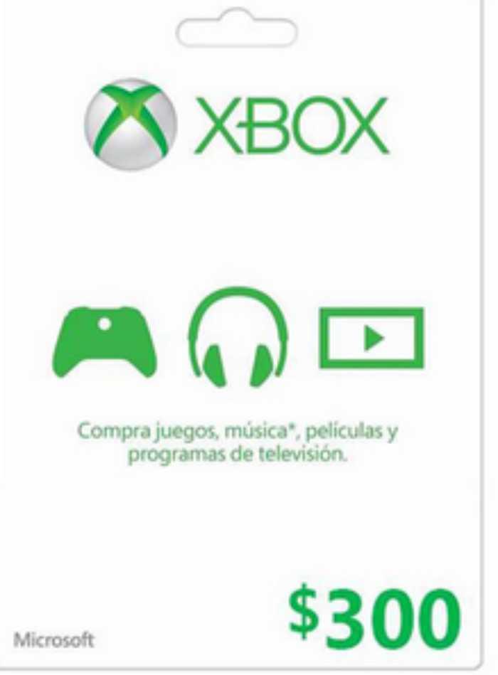 Liverpool Venta Nocturna 25% de descuento en tarjetas Xbox Live