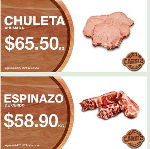 Comercial Mexicana: Martes y Miércoles de Carnes 20 y 21 de Octubre