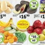 ofertas de frutas y verduras en Soriana Octubre