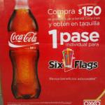 Pase Gratis de Six Flags comprando Coca-Cola en Oxxo
