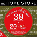 Preventa navideña The Home Store 2015