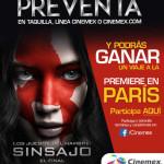 Promocion Cinemex Pelicula Sinsajo
