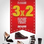 3×2 en Calzado en Sears