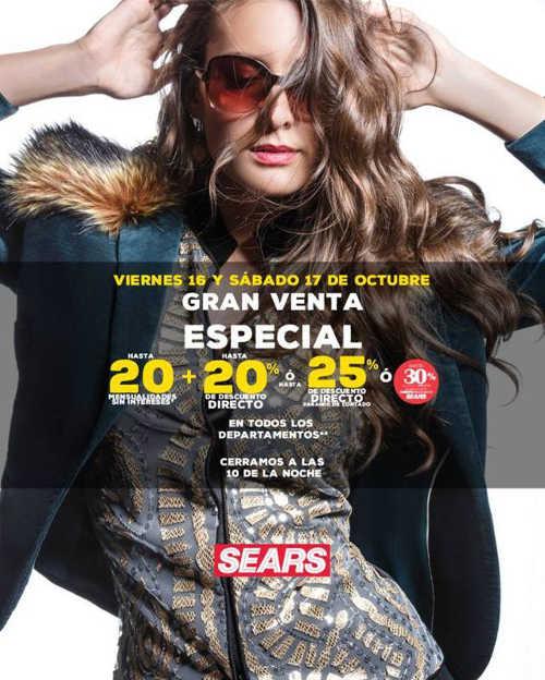 Gran Venta Especial Sears octubre 2015