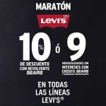 Sears Venta Especial Maratón Levi's octubre 2015