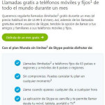 Skype Llamadas gratis a teléfonos fijos y móviles