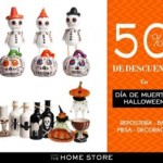 The Home Store 50% de descuento en artículos de Día de muertos y Halloween