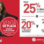 Venta de Plaza Fábricas de Francia 24 de Octubre https://promociondescuentos.com/2015/10/venta-de-plaza-fabricas-de-francia-24-de-octubre/