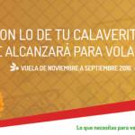 Viavaaerobus Promoción Día de Muertos