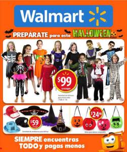Folleto Walmart ofertas octubre noviembre 2015