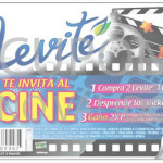 2x1 en Cinépolis Comprando Agua Levité Bonafont
