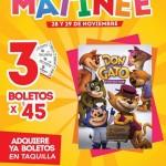 Cinemex Función Matinée Pelicula Don Gato