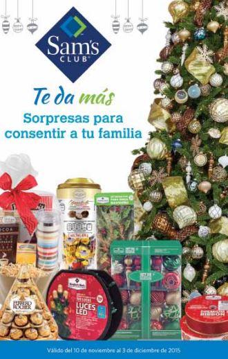 Sam's Club: Cuponera de ofertas de Navidad al 3 de Diciembre