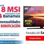 Walmart Buen Fin 2015 Pantalla Samsung
