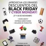 Ofertas Amazon Black Friday y Cyber Monday