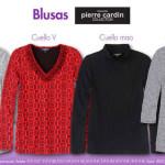 Artículo de la Semana Suburbia Blusas Pierre Cardin