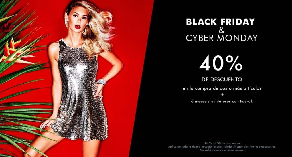 Black Friday 2015 Guess: 40% de descuento comprando 2 artículos