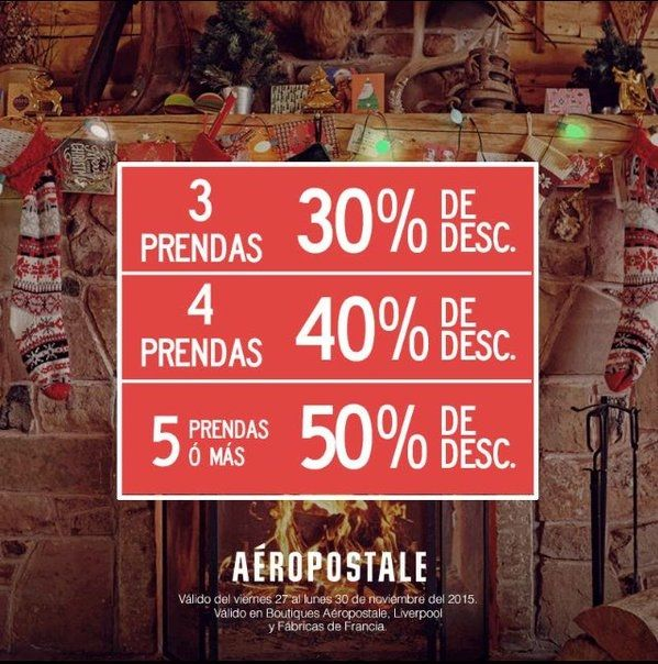Black Friday Aéropostale