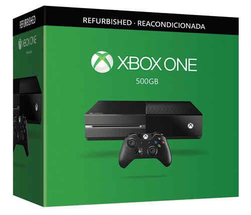 Black Week Walmart Xbox One Refurbished