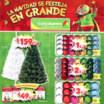 Bodega Aurrera Folleto de Navidad 2015