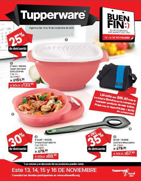 Folleto de Ofertas Topperware Buen Fin 2015 0a01b644b6d3