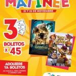 Cinemex Matinée Películas Escalofríos o Don Gato
