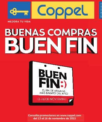 Folleto de ofertas del Buen Fin 2015 en Coppel
