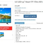 "Costco Pantalla LG LED 55"" Smart TV Ultra HD"
