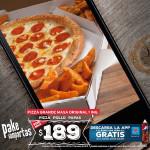 Dominos Pizza: Descuento en Pizzas Grandes