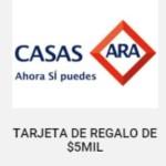 Ofertas del Buen Fin 2015 en Casas Ara