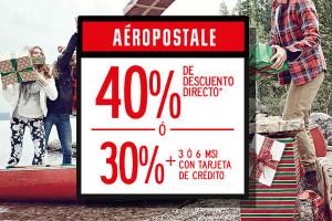Ofertas del Buen Fin 2015 en Aéropostale